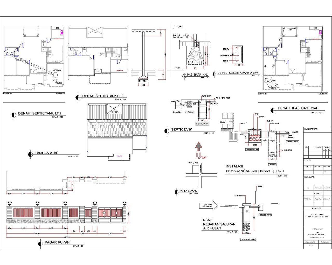 Biaya Jasa Gambar IMB Desain Rumah & Pelaksanaan